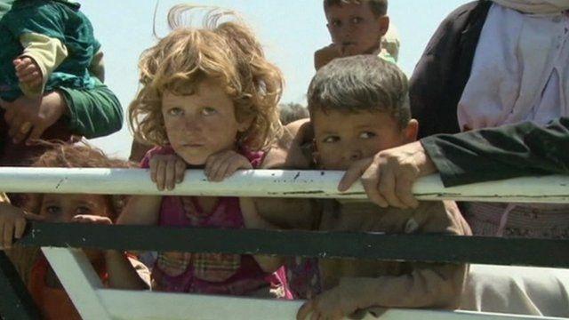 children in Iraq
