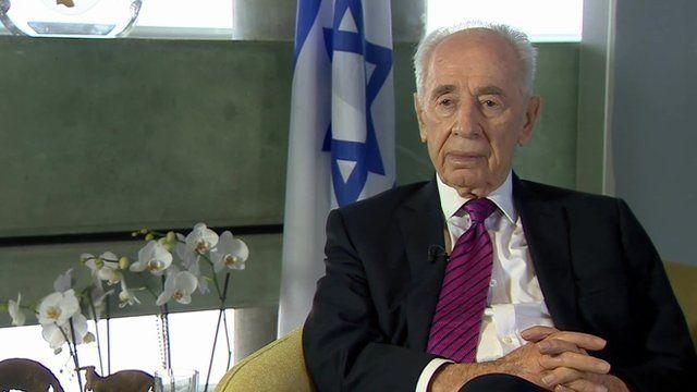 Israeli President Shimon Peres