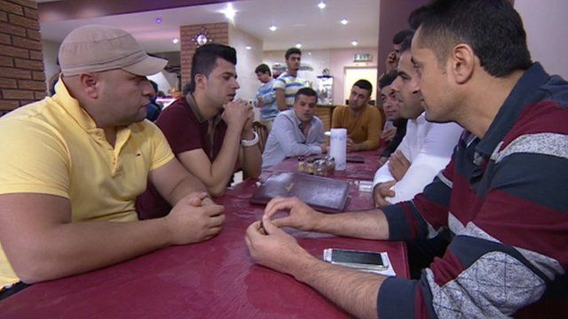 Kurds in Leicester are concerned about the fighting back in their homeland
