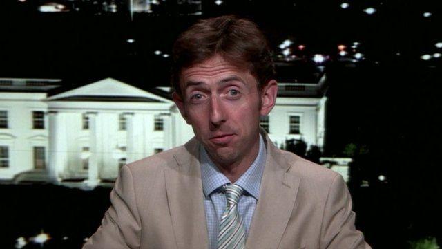 The BBC's Tom Esslemont