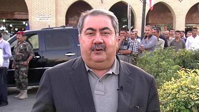 Iraq's former foreign minister Hoshyar Zebari