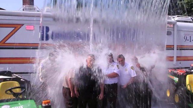 Ice Bucket Challenge attempt