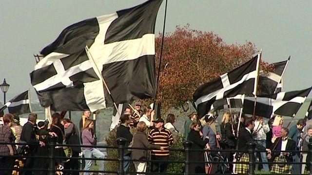 Cornish flags