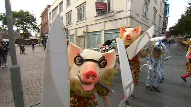 The 10-day long series of festivals in Leicester runs until the end of August.