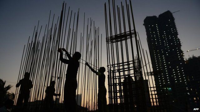 Mumbai construction site