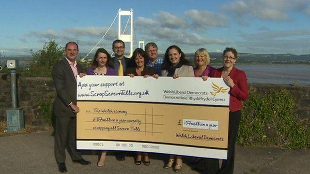 Liberal Democrats pledge to scrap the Severn Bridge tolls