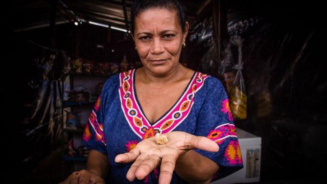 The malaria mines of Venezuela