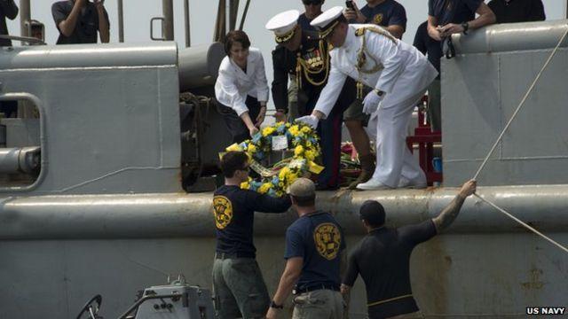 US Navy: USS Houston wreck found in Java Sea