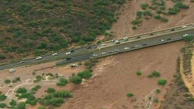 Phoenix flooding