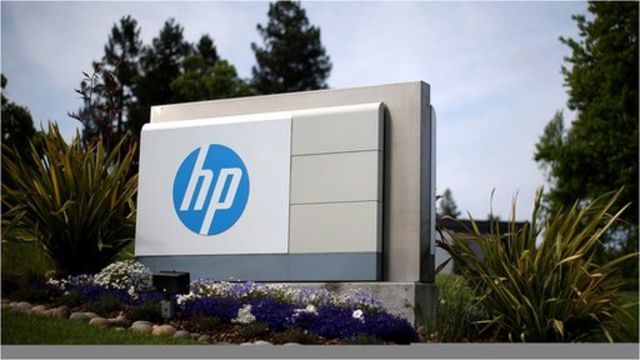 HP's sales boosted by computer unit but profit falls