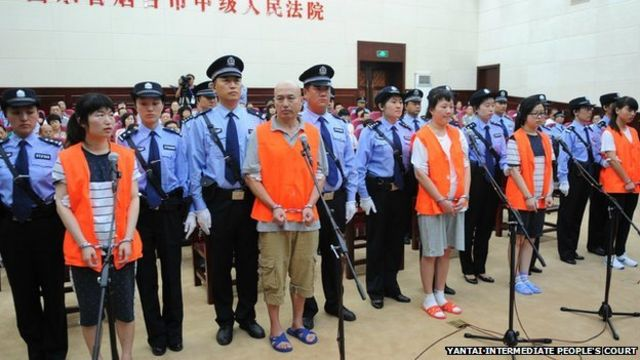 China cult murder trial: Two members sentenced to death