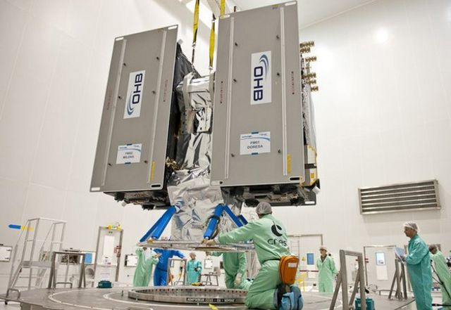 Europe launches new Galileo satellites