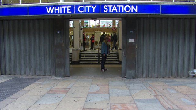 Closed White City Station