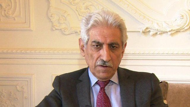 Faik Nerweyi, Iraqi Ambassador to the UK