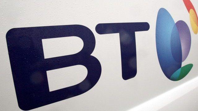 British Telecom van