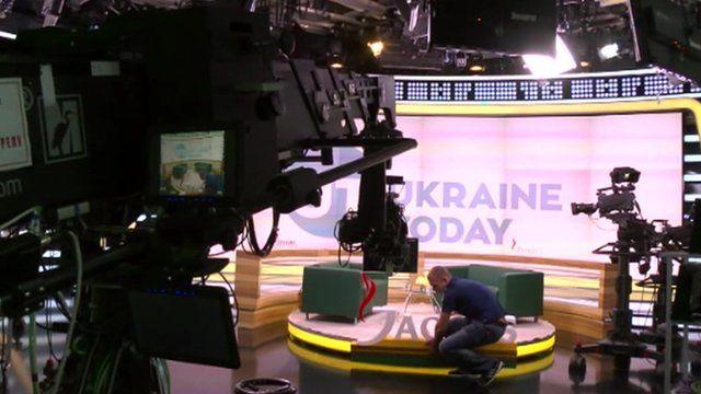 Ukraine Today studio set