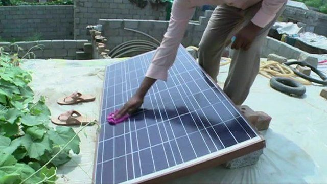 Solar energy plan to combat Pakistan's power cuts