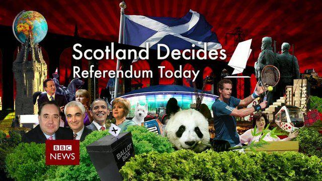 Scotland Decides: Referendum Today logo