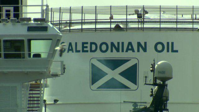 Scottish oil tanker