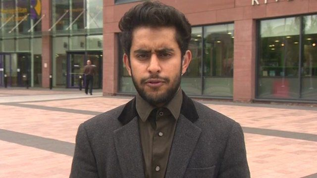 Muhbeen Hussain, founder of the Rotherham Muslim Group