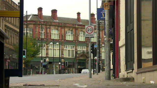 Street in Rotherham