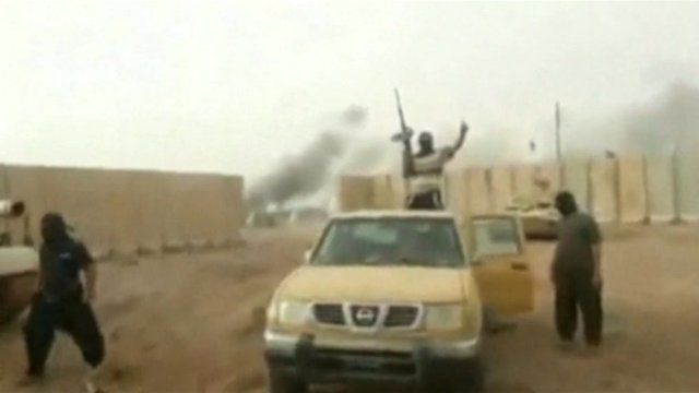 YouTube footage of extremists in Syria