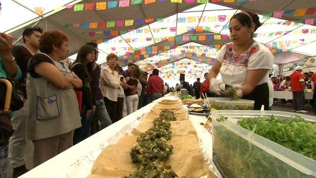 A huge enchilada