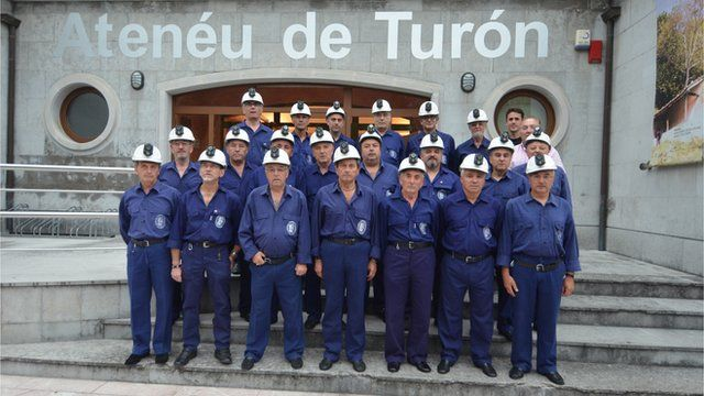The miners' choir of Turon