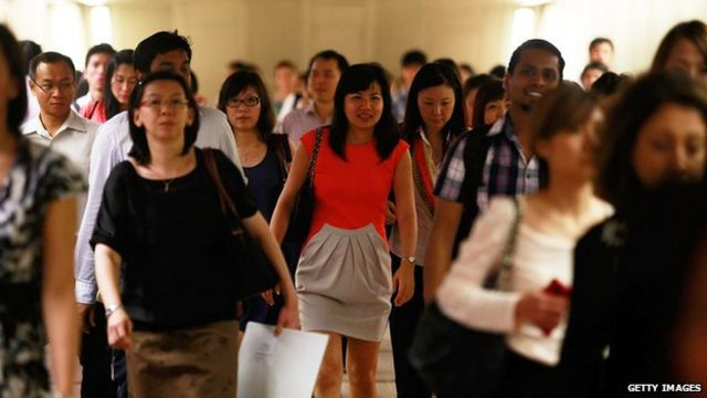 Unease in Singapore over Filipino workers