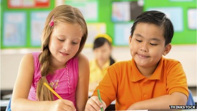 Pupils begin 'tough' new national curriculum