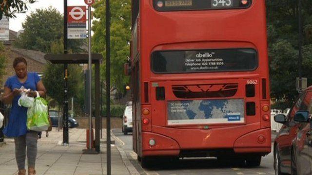 A bus in Peckham