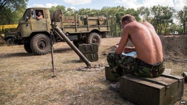 Ukraine crisis: EU 'must act on Russia aggression'