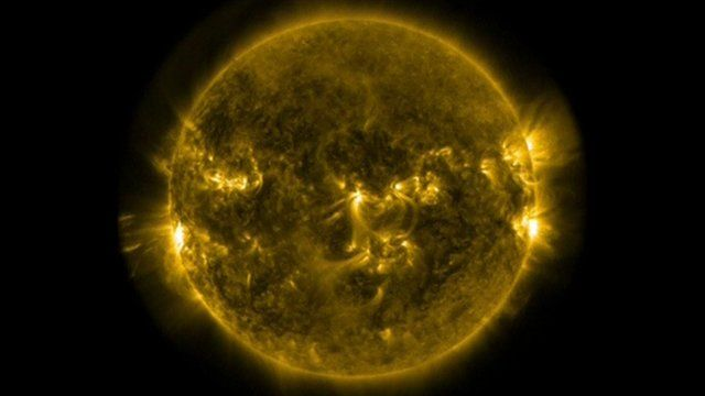 As Tim Allman reports, Nasa have warned that the solar flares could affect  some things on earth