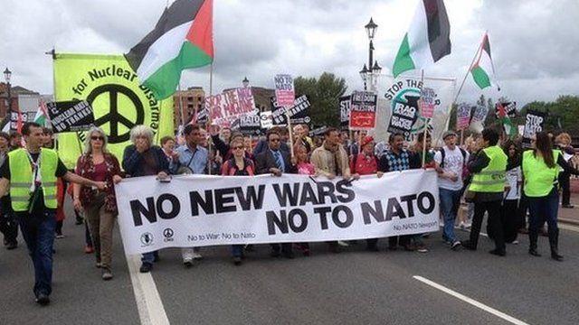 Anti-Nato march