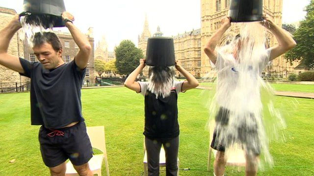 Tom Brake, Seema Malhotra and Peter Bone get wet