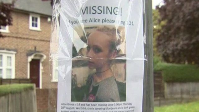 Alice Gross has been missing for four days