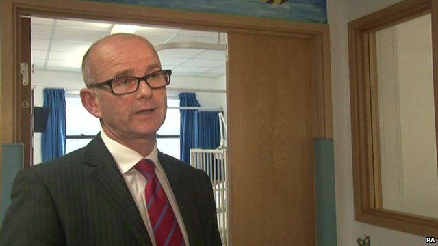 Dr Michael Marsh, medical director at University Hospital Southampton