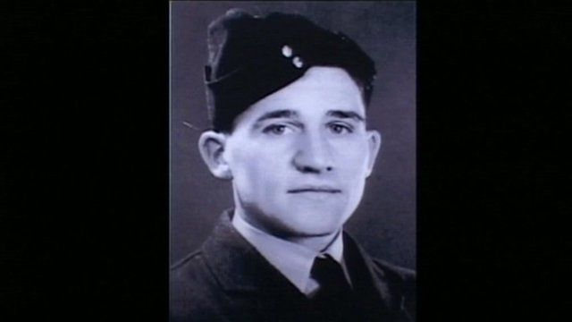 The young airman Ken Rees