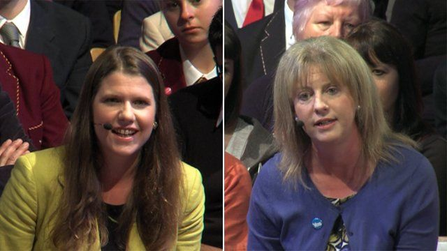 Jo Swinson and Shona Robison