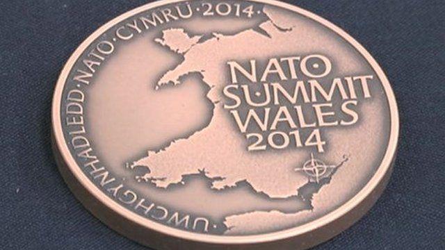 Nato summit coin