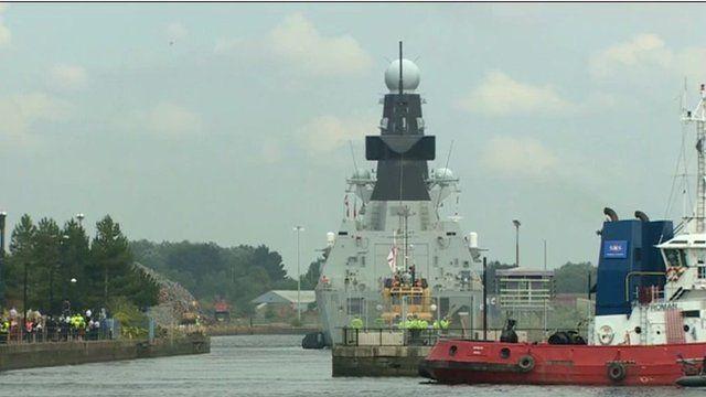 Warship HMS Duncan