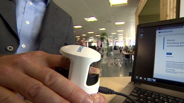 Finger scanner for internet banking launched by Barclays