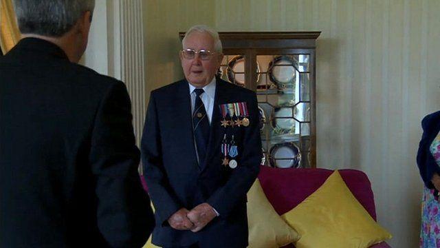 WW2 veteran awarded Arctic star