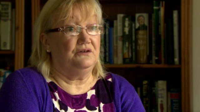 Deirdre Dougal said she was moved from ward to ward when she was a patient at the Royal Victoria Hospital
