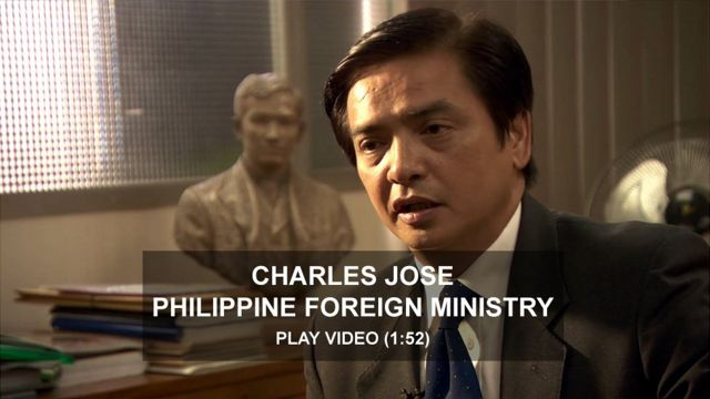 Charles Jose, Philippine Foreign Ministry
