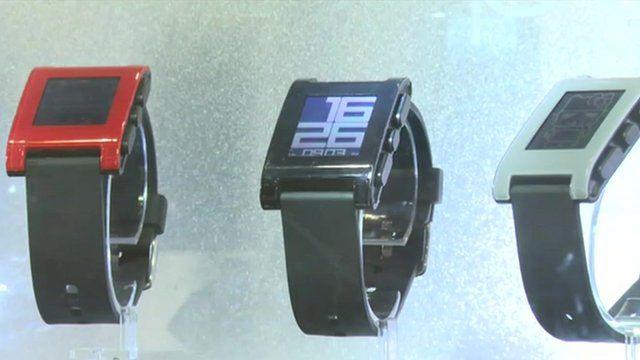 Watches at the Hong Kong fair