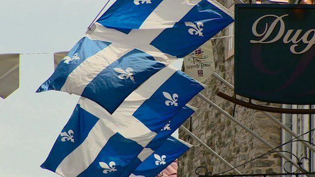 Quebec flags