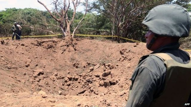 Meteorite leaves crater in Nicaraguan capital Managua