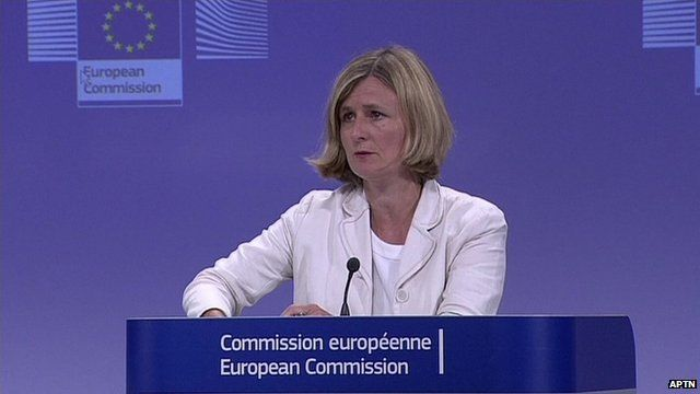 European Commission spokeswoman, Pia Ahrenkilde-Hansen