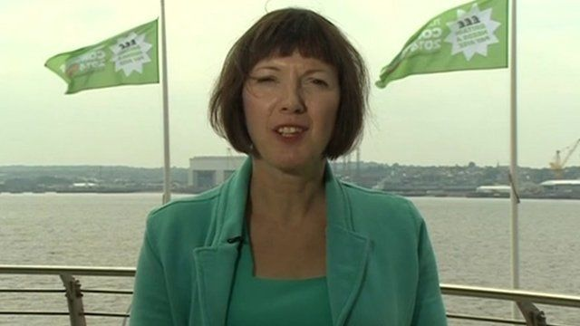 Frances O'Grady at TUC conference